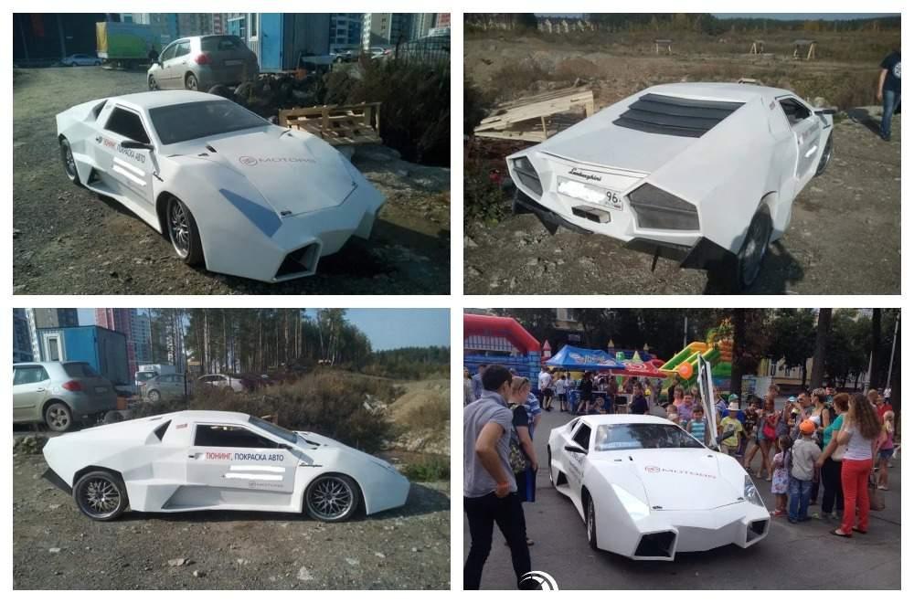 ВРФ построили суперкар Lamborghini наоснове ВАЗ