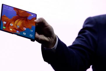 Huawei  покажет на MWC 2019 смартфон с гибким экраном