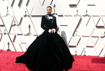 Американский актер Билли Портер прибыл на «Оскар» в женском платье