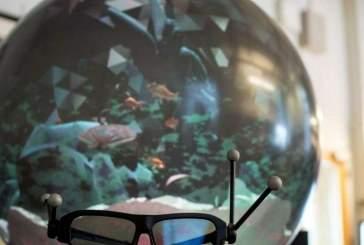 Сферический дисплей делает виртуальный мир более реалистичным