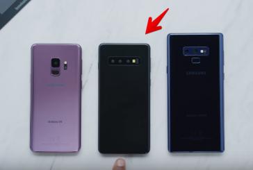 Опубликованы новые рендеры гибкого смартфона Samsung Galaxy F