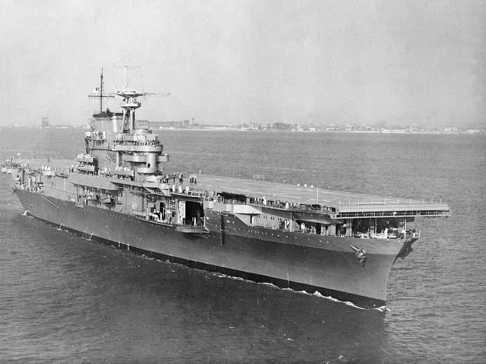 Дрон отыскал авианосец USS Hornet, потопленный впроцессе 2-ой мировой войны