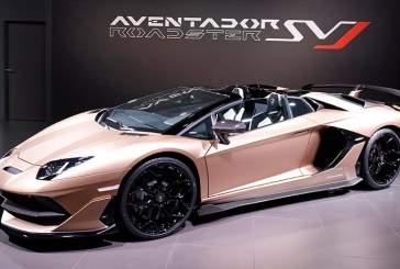 Состоялся дебют 770-сильного родстера Lamborghini Aventador SVJ