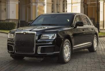 На Женевском автосалоне показали российские автомобили Aurus