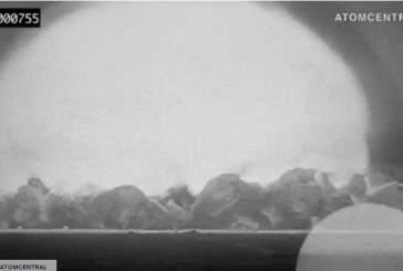 В обновленном архивном видео показали ужасающую силу первого ядерного оружия