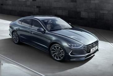 Новую Hyundai Sonata привезли дилерам