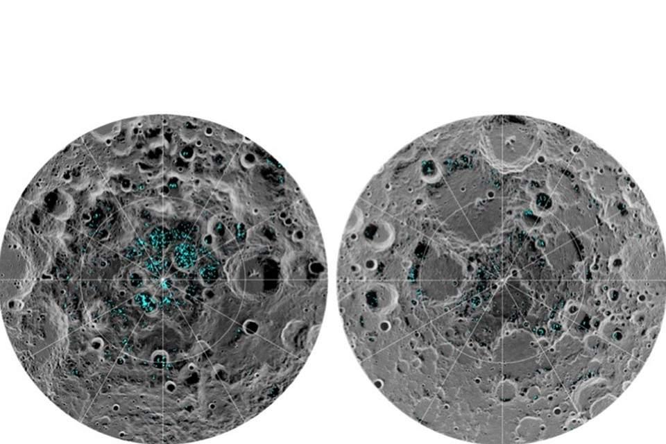 Американский зонд LRO обнаружил на Луне «мигрирующие» пятна замерзшей воды