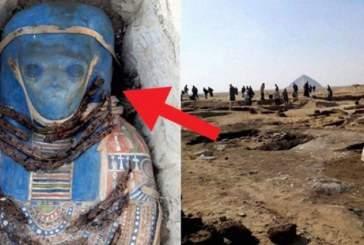 Археологи нашли в Египте мумию гуманоида