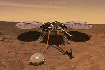 Зонд InSight впервые пробил поверхность Марса
