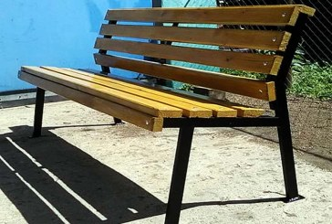 Садовая скамейка из металла своими руками