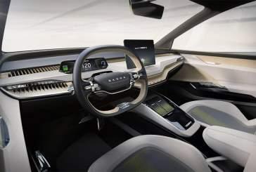 Skoda представила новый электрический кроссовер Vision iV