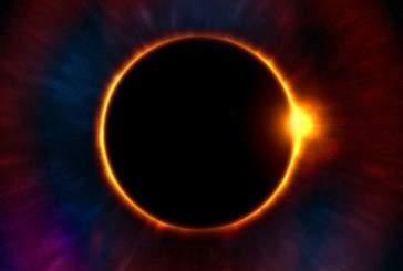 Синоптики заметили странное солнечное затмение