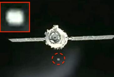 Уфолог заметил два НЛО возле китайского модуля во время стыковки с Шэньчжоу-8