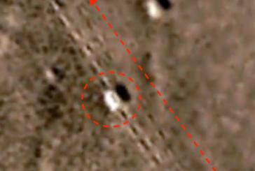 Уфолог нашел на фото Марса шахтерский корабль инопланетян
