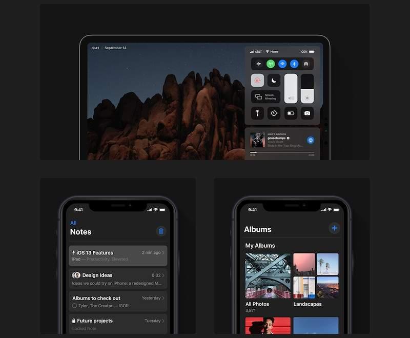 В интернете опубликованы скриншоты новой iOS 13