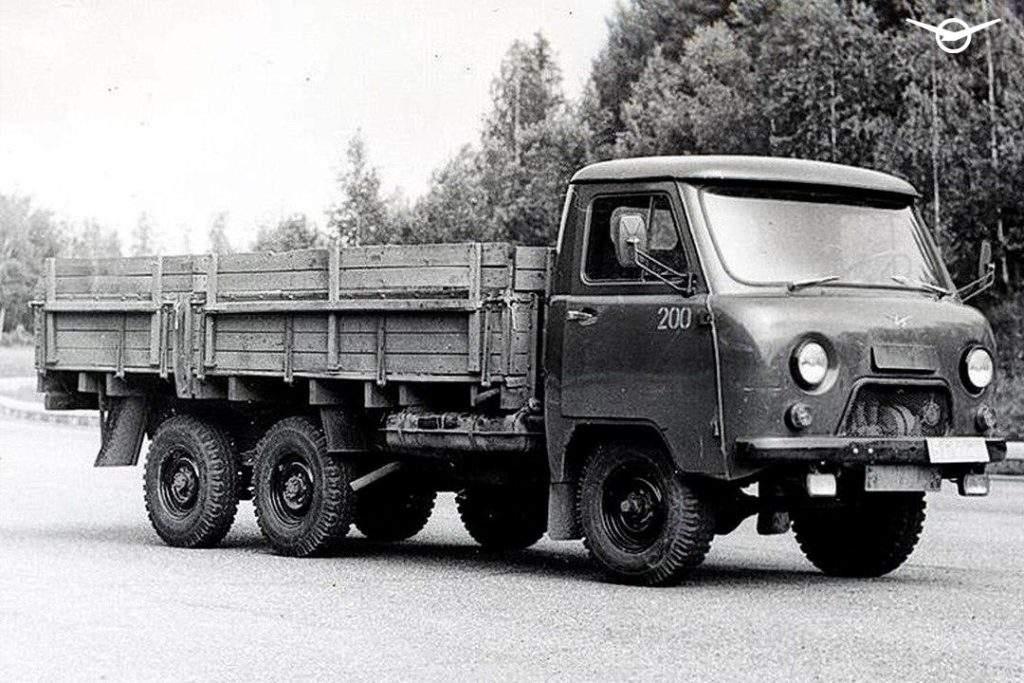 УАЗ напомнил об уникальном грузовике «Головастик» в соцсетях