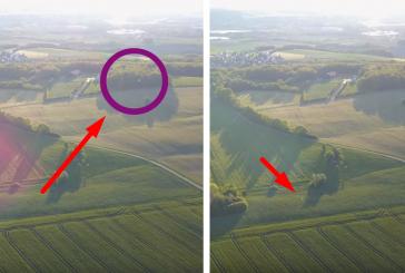 Дрон запечатлел на видео полет двух управляемых НЛО