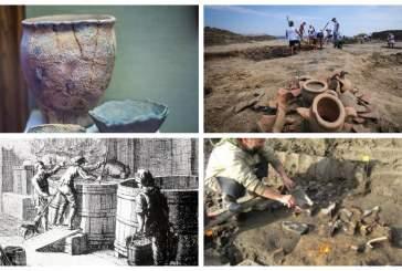 Древние кельты в Бургундии варили пиво и закупали импортное вино