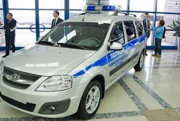 АвтоВАЗ выпустит полицейские версии Lada Largus