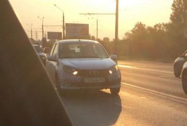 Обновленная Lada Granta Sport замечена на тестах в Тольятти