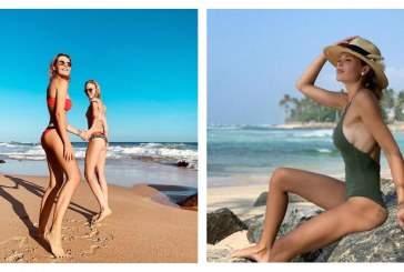 Надежда Сысоева устроила летнюю фотосессию вместе с Марией Горбань