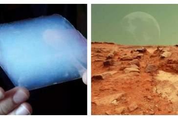 Аэрогель из кремнезема может сделать Марс пригодным для жизни людей