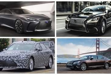 Новый водородный Lexus LS замечен на дорожных тестах