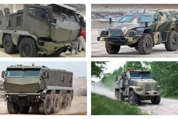 Названа тройка лучших бронеавтомобилей российской армии