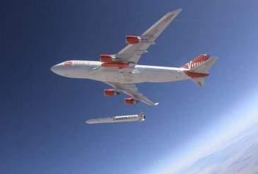 Virgin Orbit испытала сброс космической ракеты с Boeing 747