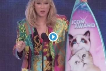 Тейлор Свифт анонсировала новый сингл на церемонии награждения Teen Choice Awards