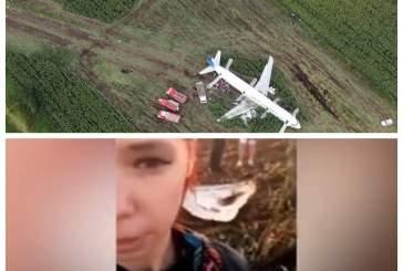 «Неблагодарной» пассажирке севшего в поле А321 пожелали скорейшей смерти