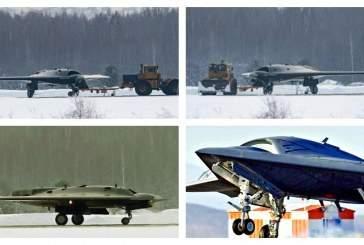 Первый полёт российского беспилотника «Охотник» прошёл успешно