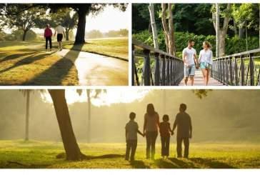 Прогулка в парке повышает настроение не хуже любого праздника