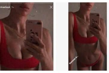Ирина Шейк продемонстрировала фигуру в бикини