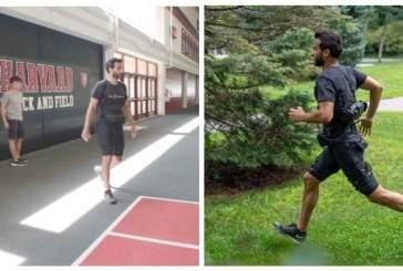 Новый портативный экзокостюм облегчит бег и ходьбу
