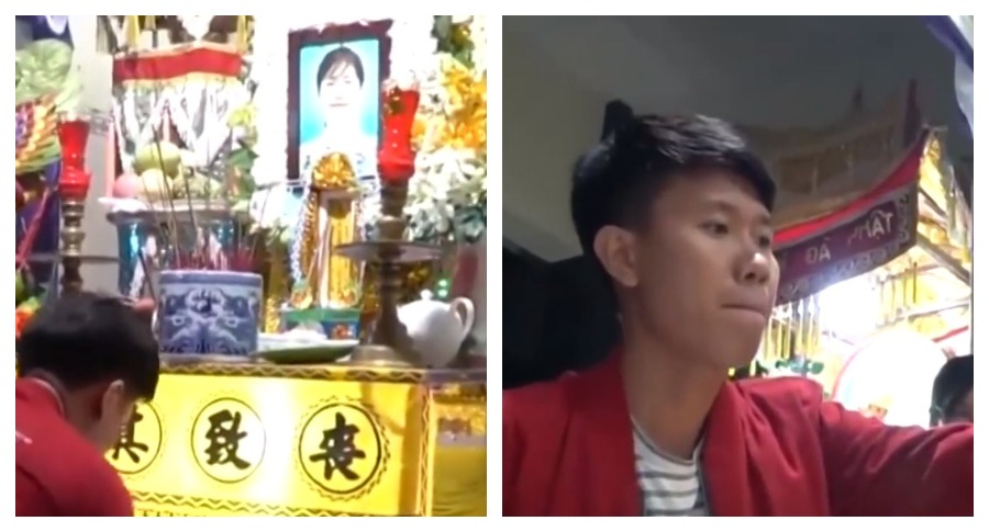 Во Вьетнаме жених на похоронах своей невесты устроил свадьбу