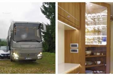 Дом на колесах Volkner со встроенным гаражом оценили в 100 миллионов рублей