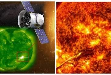 Уфолог обнаружил возле Солнца гигантский НЛО