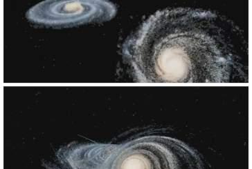 Ученые показали на видео гибель нашей галактики