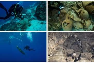 На дне Эгейского моря обнаружены останки колоссального древнего корабля