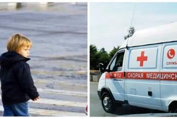 В Ногинске автомобиль сбил двух детей на тротуаре