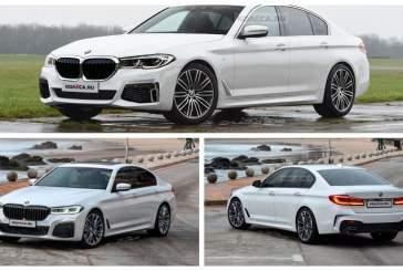 Опубликованы фото обновленной BMW 5 Series G30