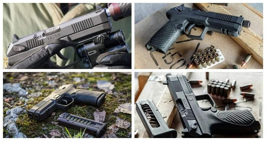 Новейший российский пистолет «Удав» прошел испытания