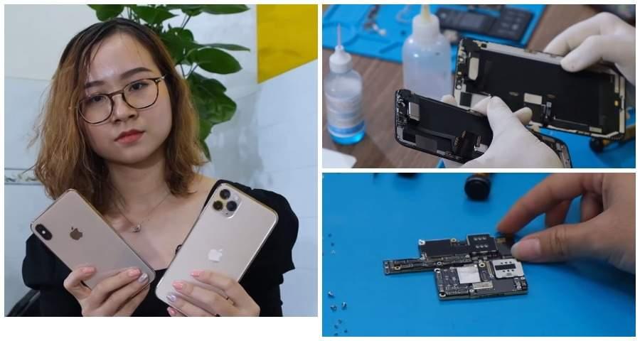 В Сети опубликовано первое видео разбора iPhone 11 Pro Max