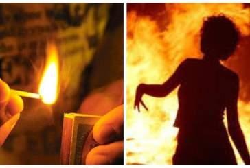 Житель Горно-Алтайска облил бензином и поджег свою сожительницу во время ссоры