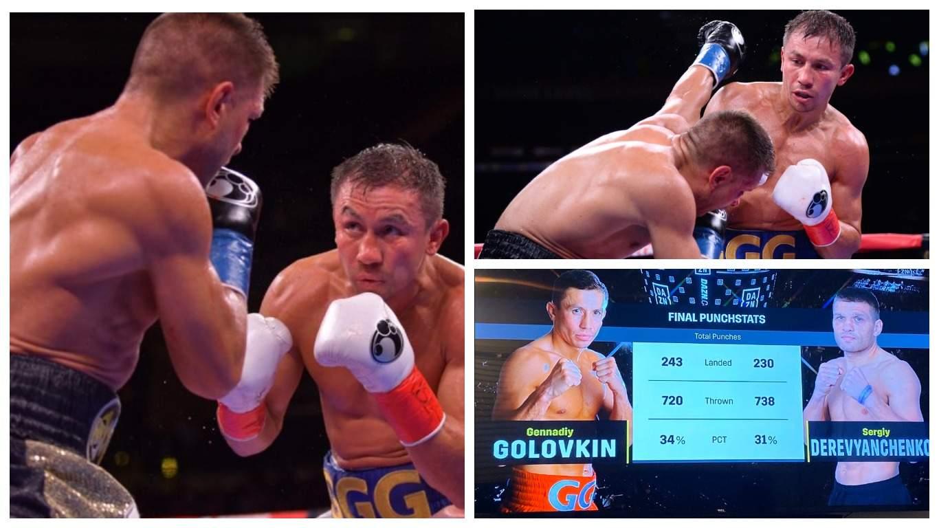 Головкин одолел Деревянченко и получил титул чемпиона