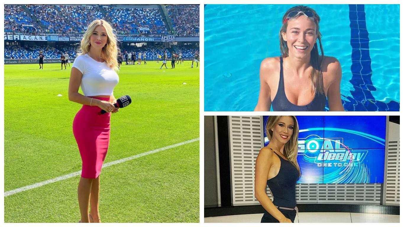 Итальянская журналистка ответила фанатам «Наполи», попросившим ее показать грудь