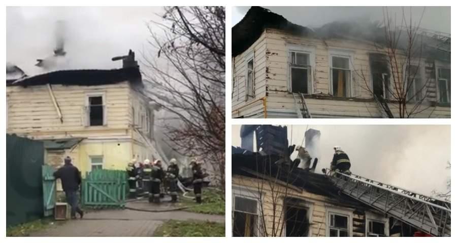 Пожар жилого дома под Ярославлем унес жизни пятерых детей