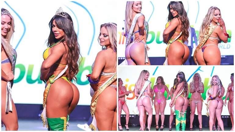 Жительницу Бразилии признали обладательницей самых красивых ягодиц в мире