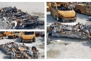 В США на торги выставлен сгоревший дотла Ferrari 458